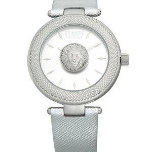 Versace White Metallic Versus 40mm Watch!
